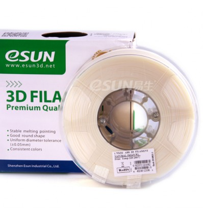 eSUN PLA Filament - 1.75mm Natural 0.5kg