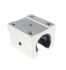 Linear Bearing Pillow Block Open - SBR10UU - 10mm Diameter