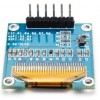 OLED Display Module Yellow Blue 0.96 Inch 128x64 6pin SPI For Arduino