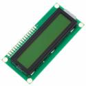 LCD Display 16x2 Black on Yellow