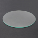 Round Borosilicate Glass Bed - 180mm