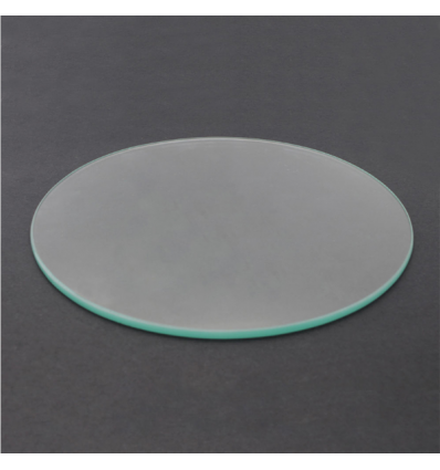 Round Borosilicate Glass Bed - 200mm