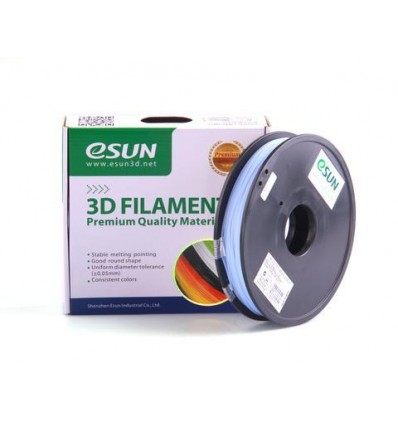 eSUN PLA filament - 1.75mm Colour Change (Temperature) Blue