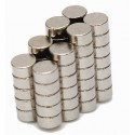 Neodymium N42 Magnet Pack, 4 Pcs, Disk