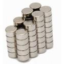 Neodymium N42 Magnets - Disk, 6x3mm