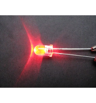 LED 5mm Red - Clear Lens TH