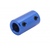 Aluminium Rigid Coupling 5mm to 8mm - Anodised