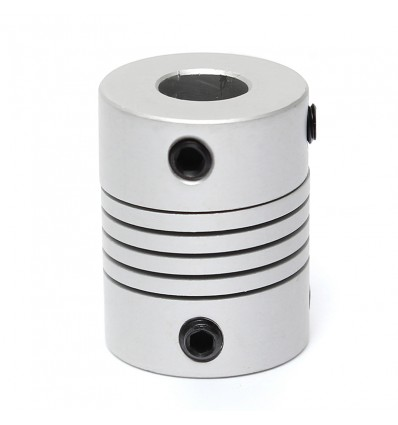 Flexible Aluminium Coupling 8mm to 10mm