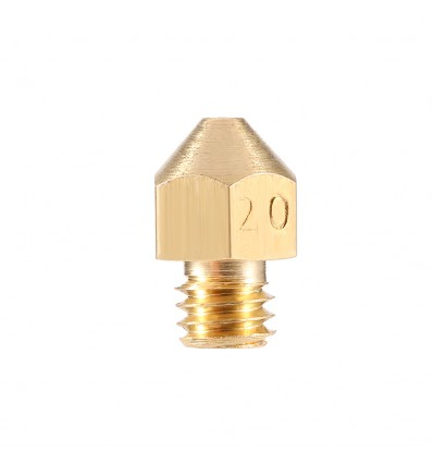2mm Large Diameter Nozzle for 3mm Filament