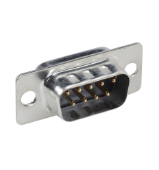 DB-9 (DE-9) D-Sub Male Connector