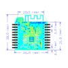 CC2530 ZigBee module, XBee compatible interface |Core2530 (B)