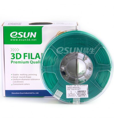 eSUN PLA+ Filament - 1.75mm Green 0.5kg