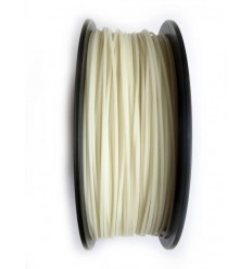 White Flexible Filament 1.75mm 1kg