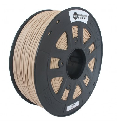 Wood Filament 1.75mm 1kg Dark Brown