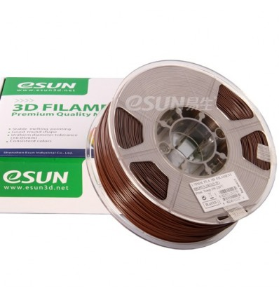 eSUN PLA Filament - 1.75mm Brown