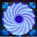 120mm 12V DC Axial Fan with Blue LED