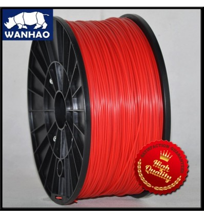 Wanhao Red PLA Filament - 1.75mm