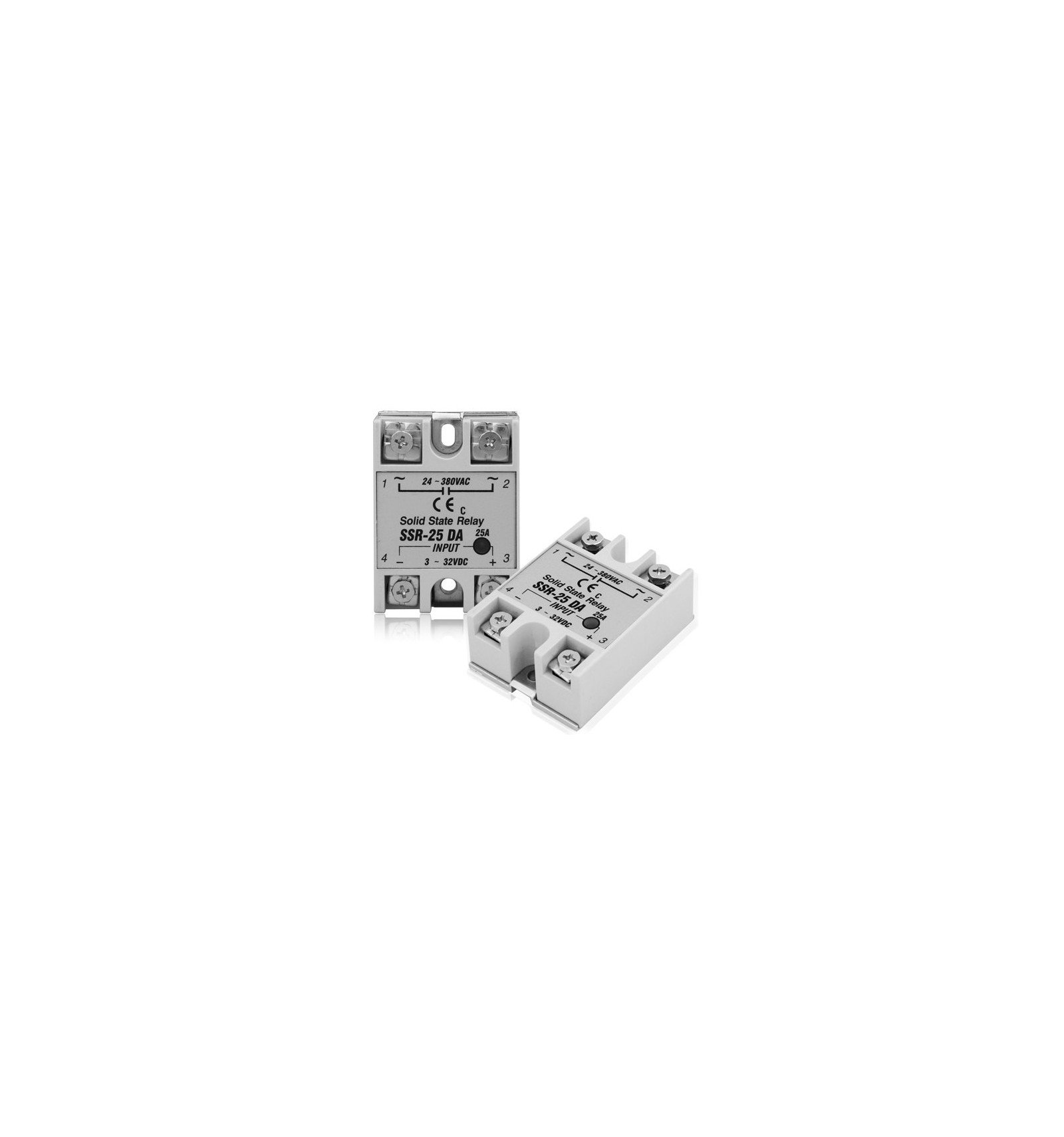 Solid State Relay Ssr Ac 25a 3 32v Dc Input Diyelectronics There Are Relays And