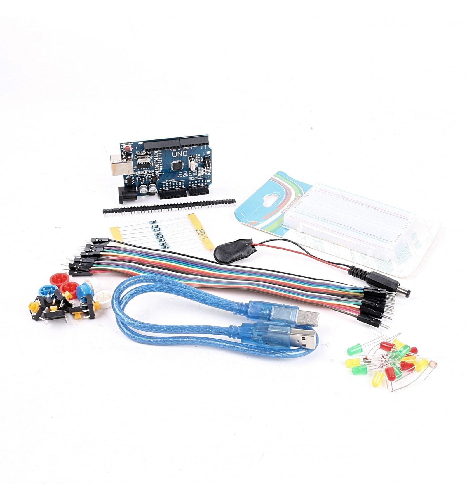 Basic arduino uno starter kit electronics project pack
