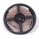 White LED Strip | 60/m - Size 3528 - 12V DC | Black Backing