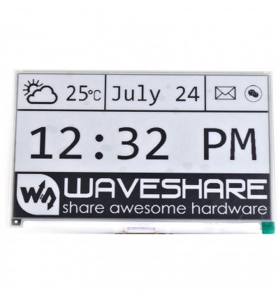 7.5inch E-Ink Display HAT for Raspberry Pi, 640x384