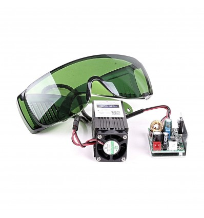 High-Power Laser Module 12V 2.5W - with Goggles & External TTL Control