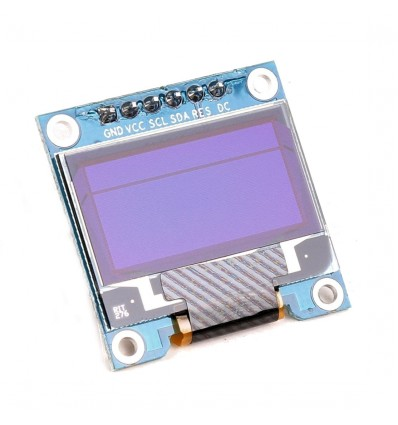 OLED Display Module Blue 0.96 Inch 128x64 6pin SPI For Arduino