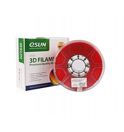 eSUN eLastic TPE Filament - 1.75mm 1kg Red