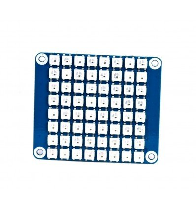 RGB LED HAT 8x8 for Raspberry Pi WS2812B
