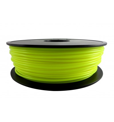 Yellow Flouro PLA 3mm 1kg