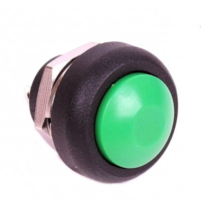 Push 12mm Button - Green