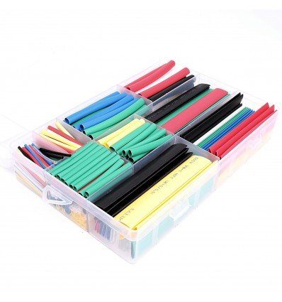 Assorted Colour Heatshrink Kit