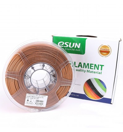 eSUN PLA+ Filament - 1.75mm Light Brown