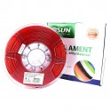 eSUN PLA+ Filament - 1.75mm Fire Engine Red