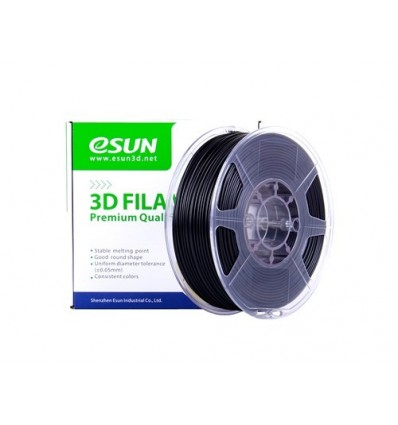 eSUN eABS MAX Filament - 1.75mm Black 1kg - Flame Retardant