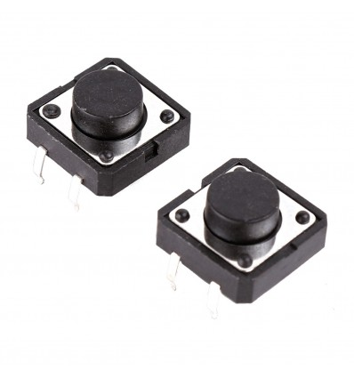 Tactile Push 12mm Button 2-Pack