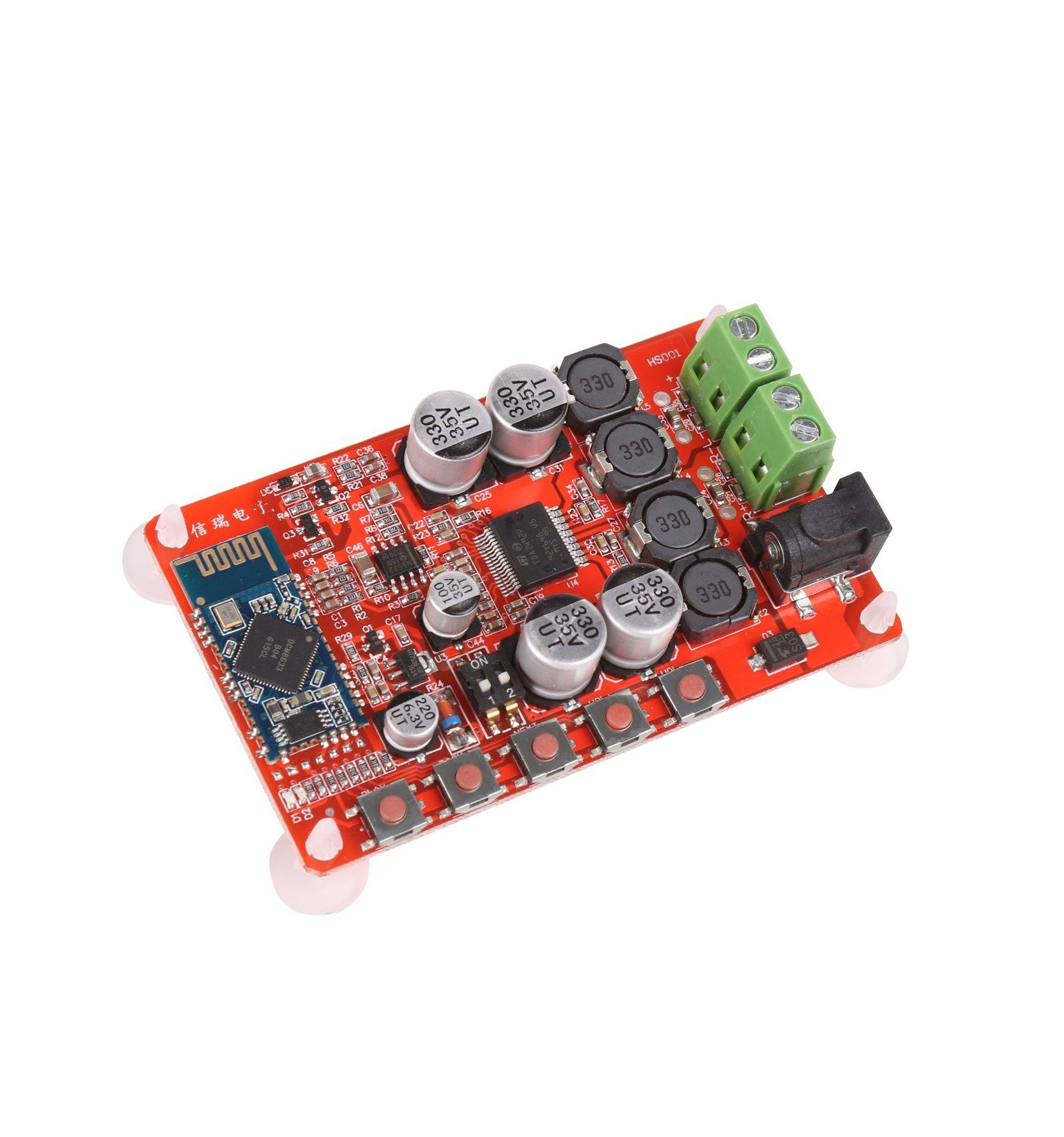 Wireless Bluetooth Audio Receiver Digital Amp Board 25w Hifi Amplifier With Mosfet Tda7492p Csr 40