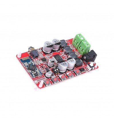 TDA7492P 25W+25W Wireless Bluetooth CSR 4.0 Audio Receiver Digital Amplifier Board - With Jack