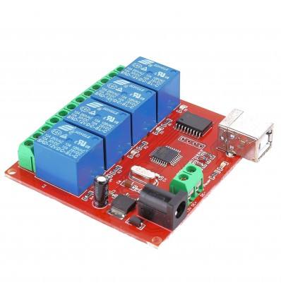4 Channel 5V Relay Module 10AMP USB