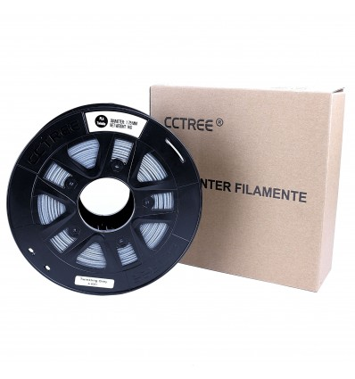 CCTREE Sparkle PLA Filament – 1.75mm Grey