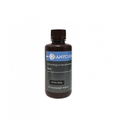 Anycubic 3D Resin – White 500ml
