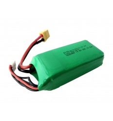 LiPo Battery 14.8V 1000mAh 25C 4cell