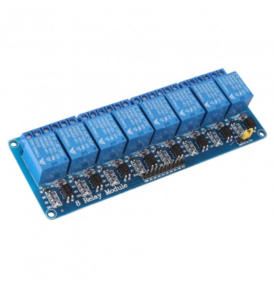 8 Channel 5V Relay Module 10AMP/250V