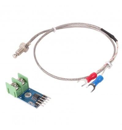 MAX6675 K Type Thermocouple Temperature Sensor Kit