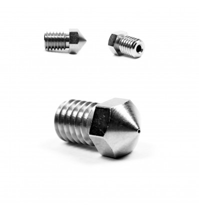 0.2mm Micro Swiss E3D Nozzle for 1.75mm - Plated Brass