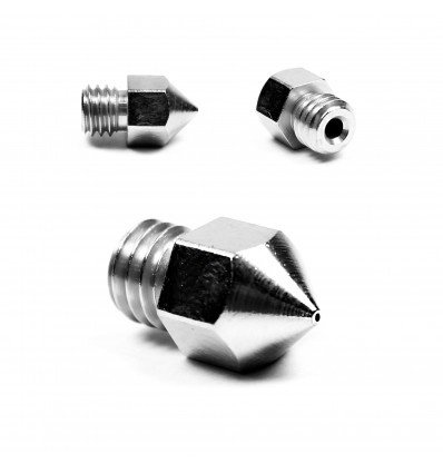 0.2mm Micro Swiss MK8 Nozzle for 1.75mm - Plated Brass