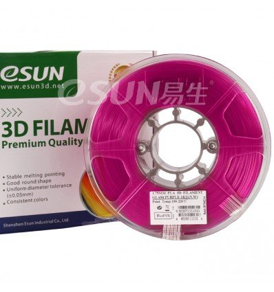 Purple Transparent PLA 1.75mm 1kg ESUN