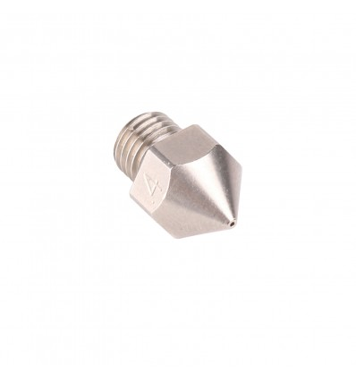0.4mm Micro Swiss MK8 Nozzle for Creality CR-10S Pro - Plated Brass