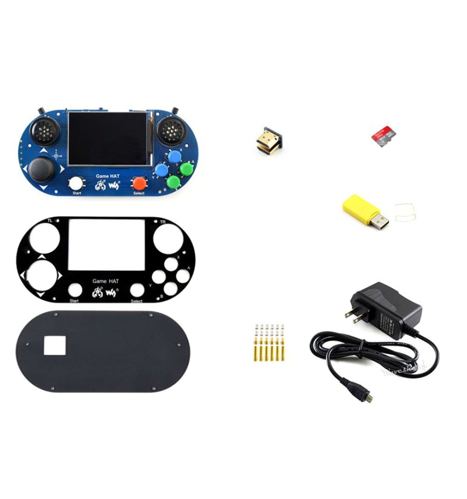 Raspberry Pi Accessories Pack | Handheld Gaming Kit