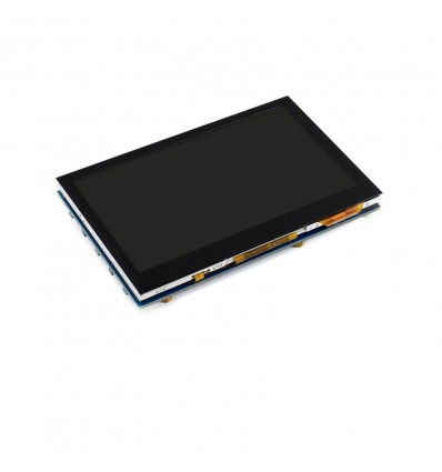 4.3inch HDMI IPS LCD 800x480 - Capacitive Touch - Cover